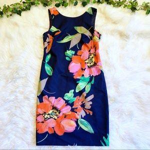 Trina Turk Clemente Floral Sheath Mini Dress